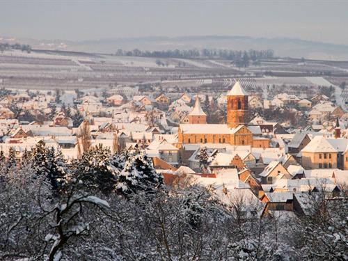 Rosheim sous la neige