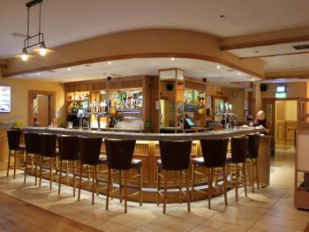 Our lively bar