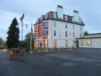 Highland Moors Guest House & Conference Centre - Resurfacing carpark, new flag poles and fresh new exterior