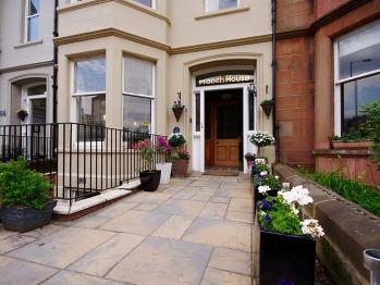 Fraoch House - front garden