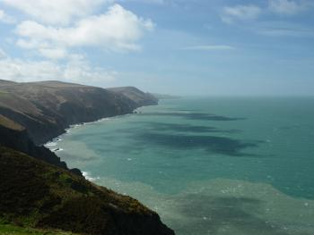 View from South West Coast Path