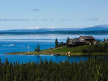 The Point Lodge on Lake Louise Alaska