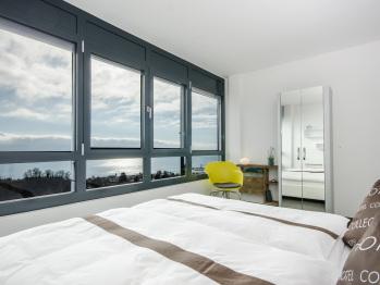 Chambre Double Confort Vue Lac (petit-déjeuner en option)
