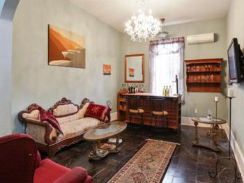a common area open and available  always for your relaxation and occasional wine