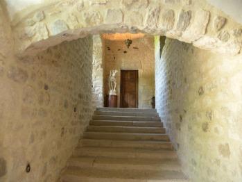 Escalier monumental du XVII° siècle