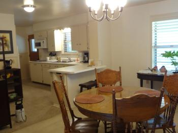 Lakehouse Dining/Kitchen Area