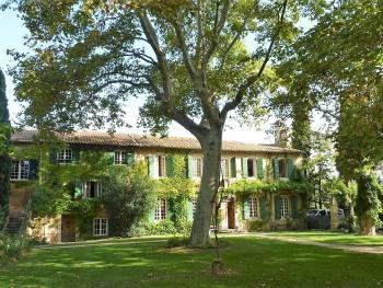 B&B Domaine de Rhodes - Vue de la maison d'hôtes