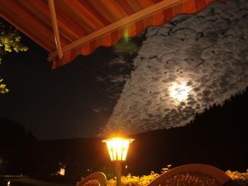 Abends auf der Sonnenterrasse