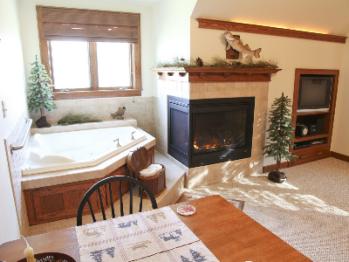 Lodge Suite-Double room-Ensuite with Jet bath