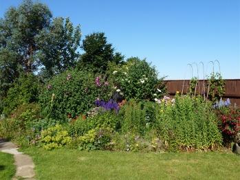 Well-established gardens