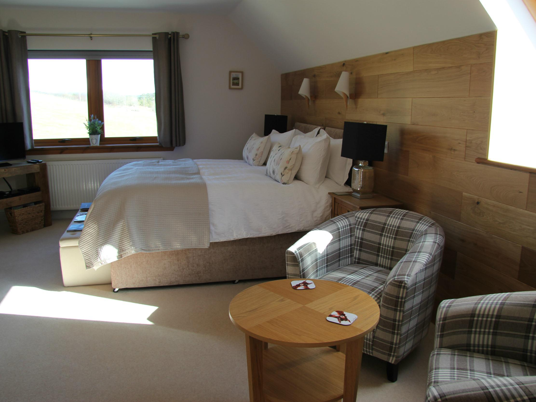Double room-Ensuite-Room 1 - Red Squirrel
