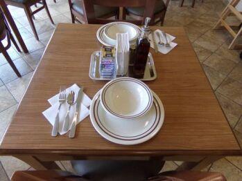 Restaurant Style Plates, Bowls, & Flatware
