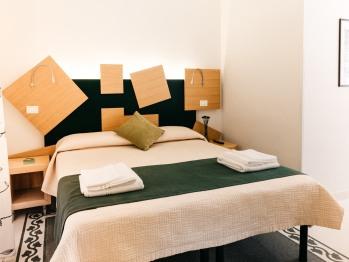 Matrimoniale o doppia-Standard-Bagno in camera con doccia-Balcone-Stanza verde