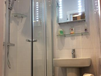DOUBLE ENSUITE SHOWER REFURBISHED