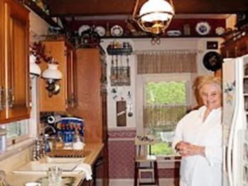 Everyone's Favorite Room--Bonnie's Kitchen.