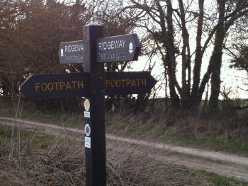 located just 1/2 mile from The Ridgeway with a direct route from the pub