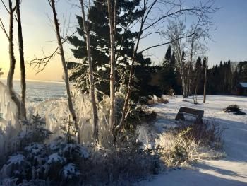 Winter on our Lake Superior shoreline