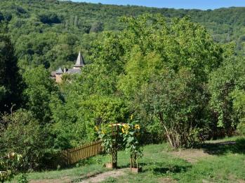 Jardin avec vue sur l'église St Paul