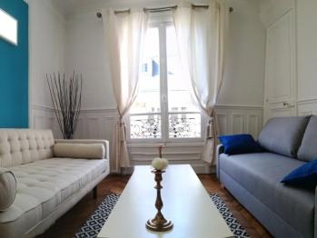 Appartement 2-Chalgrin Paris - Salon