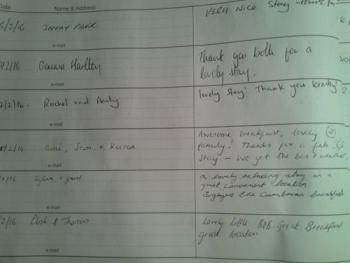 Some of our latest guest comments.