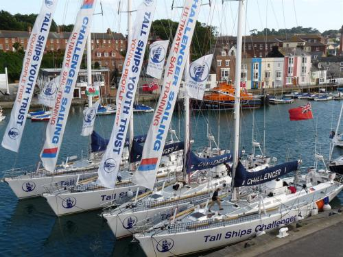 Tall ships challenge, Outer Harbour, a short walk from the Cumberland