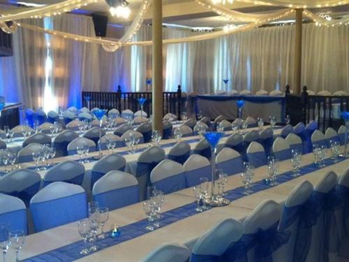 Hillcarter Suite Wedding Reception