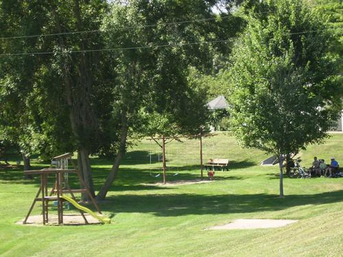 Peterson City Playground at the Park and Campground