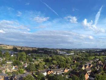Areal view of Cropredy