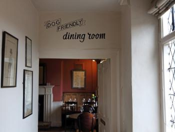 Dog Friendly Dining Room