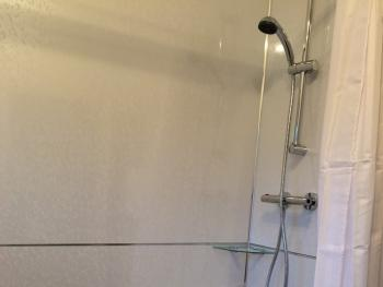 Over Head Shower added Double Room En Suite Bath