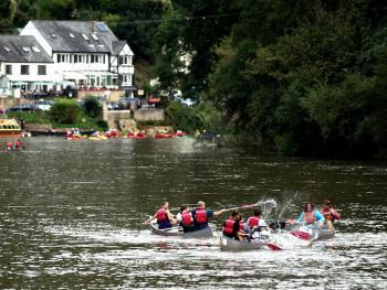 Canoeing, Symonds Yat