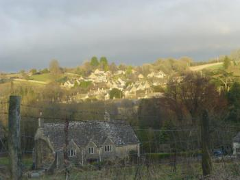 Cotswold Villages set in the rolling hills