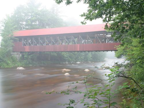 Our very own Bartlett Covered Bridge