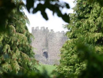 Town Walls From Guest House