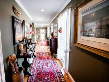 """The Gallery Hallway Down in """"The Cottage"""" Area of The Inn"""