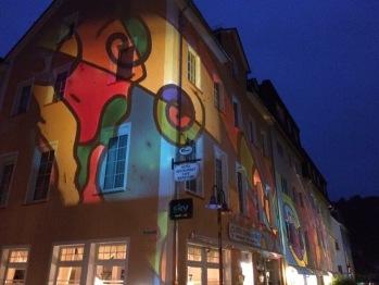 """ Heller Herbst "" Bad Bertrich 2016 Lichtillumination"