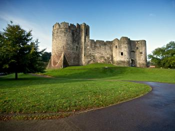 Chepstow Castle, Wye Valley