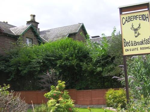 B&B sign for Caberfeidh