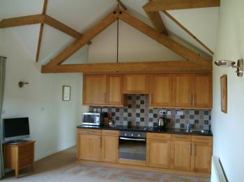 Two bedroom cottage open-plan kitchen area