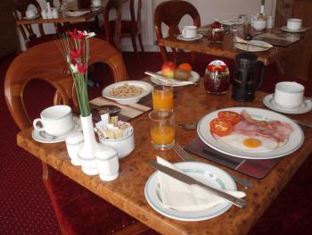 Enjoy a freshly cooked breakfast, chosen from our extensive breakfast menu and all included in the price!