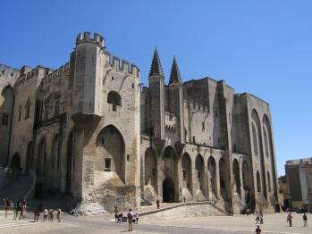 Avignon, le Palais des ¨Papes