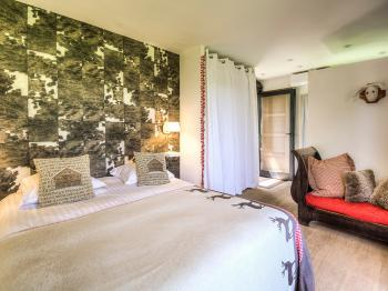 Chambre Alpine-Double-de Luxe-Salle de bain Privée-Terrasse - Tarif de base