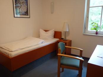 Einzelzimmer-Budget-Ensuite Dusche-Gartenblick-Forsthaus 8