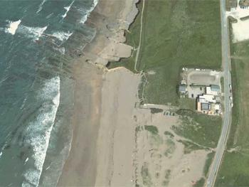 Google earth image of location
