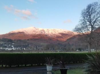 Coniston Old Man in winter