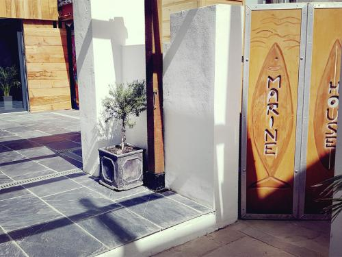 We share an entrance courtyard with the michelin recommended restaurant next door 'nc'