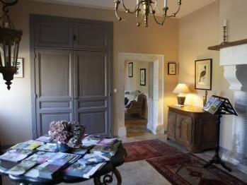 Manoir de la Fieffe - Hall d'entrée