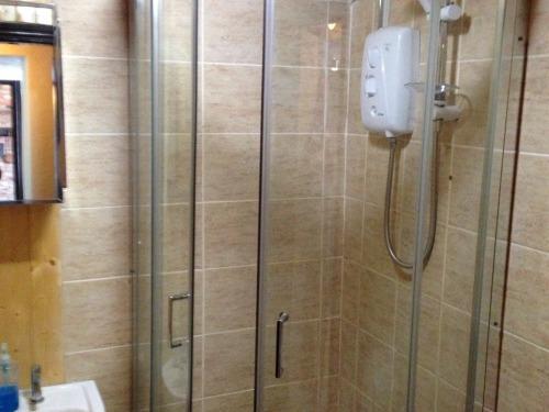 Shower room at Blacksmiths Cottage