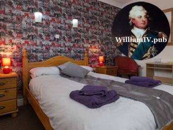 Homely bed and breakfast accommodation at The William IV Pub Norwich.