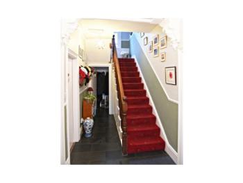 Entrance hall and stairs to first floor